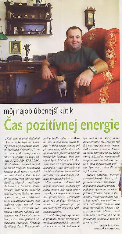 Slovenka 5/2004: Čas pozitívnej energie