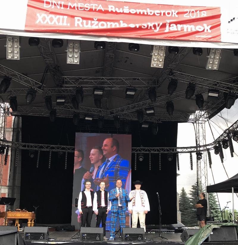 Dni mesta Ružomberok 2018 a XXXII. Ružombersky jarmok 1.-2.jun 2018