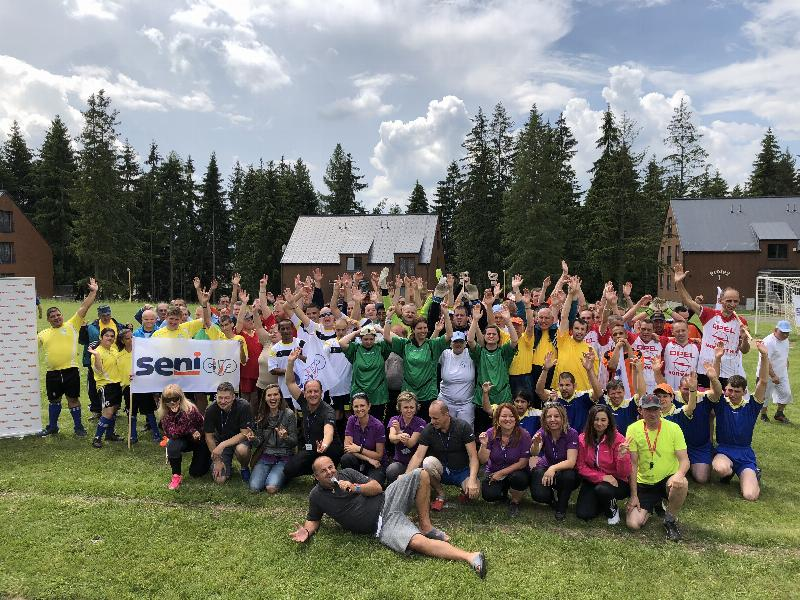 12.ročnik Seni cup futbalovy turnaj klientov DSS a ŠZ. 24.maj.2018. Liptovsky Mikulas
