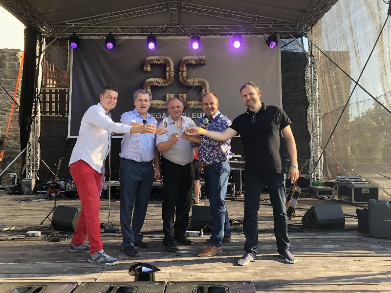 25 rokov spolocnosti VIEGA na ceskom a slovenskom trhu. Slezsky hrad v Ostrave. 21.jun.2018